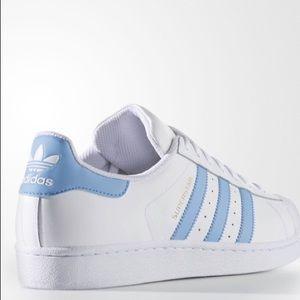 adidas Shoes | Light Blue Shell Toe